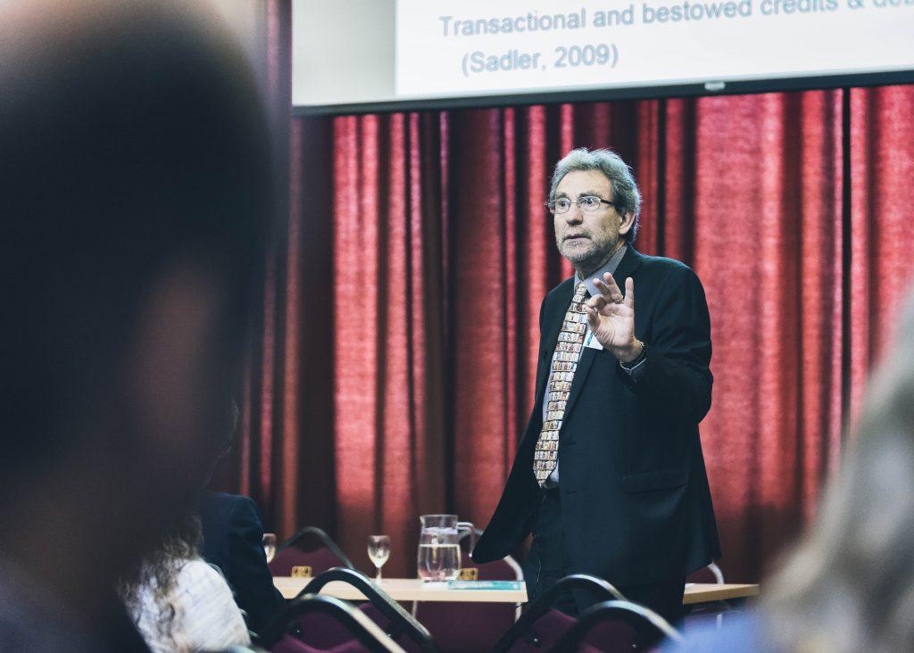 Image of Chris Rust delivering workshop symposium