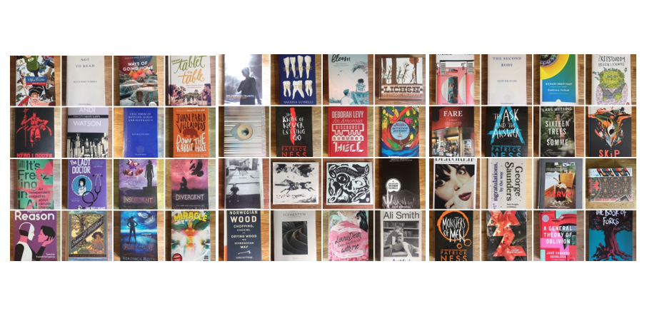 covers of the books james has read in 2019